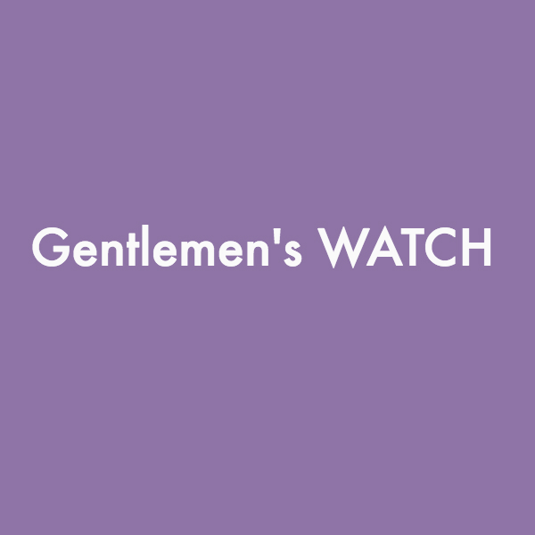 Gentleman's WATCH